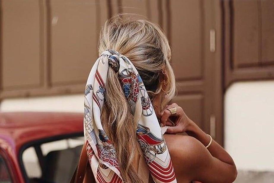porter un foulard cheveux
